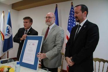 Ministerio de Cultura recibe de la Embajada de EEUU 23 piezastaínas