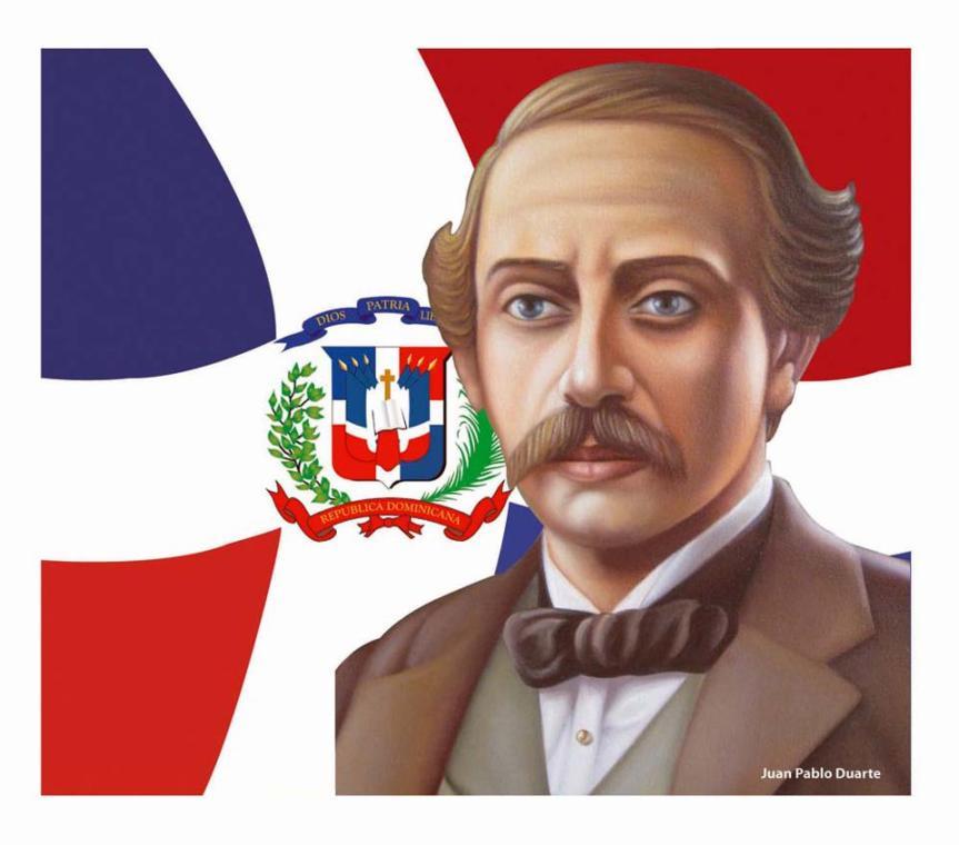 Natalicio Juan Pablo Duarte yDiez