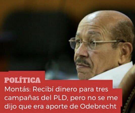 Montás soltó la lengua: recibió dinero de Rondón para campañas PLD; nunca firmó contratos con Odebrecht y sí lo hicieron Díaz Rúa, Gonzalo, Segura, Bengoa, Germán, Lizardo yToribio