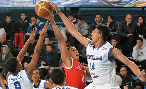 República Dominicana conquista el oro en Centrobasketsub'17
