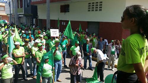 La Marcha Verde se hizo sentir en Todo el  Cibao en contra de lacorrupción