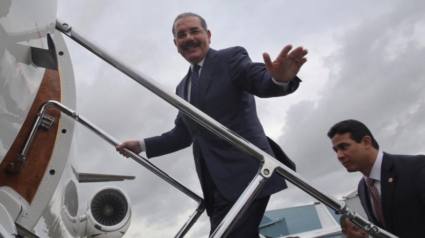 El Presidente Danilo Medina partirá este lunes hacia Italia; participará en 42° sesión Consejo Gobernadores delFIDA