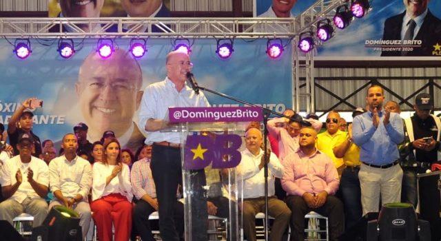 """Domínguez Brito: """"Tendré mano firme para quien se robe el dinero delpueblo"""""""