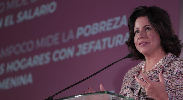 La vicepresidenta Margarita reclama una mayor participación política y económica de la mujer en laregión.