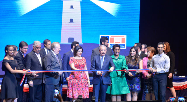 El Presidente Danilo Medina inaugura la 22 Feria Internacional delLibro