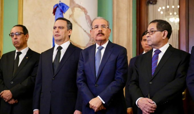Presidente Danilo Medina juramenta a los nuevos jueces de la Suprema Corte deJusticia