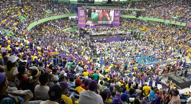 El apoyo al gobierno de Danilo Medina fue sinprecedente