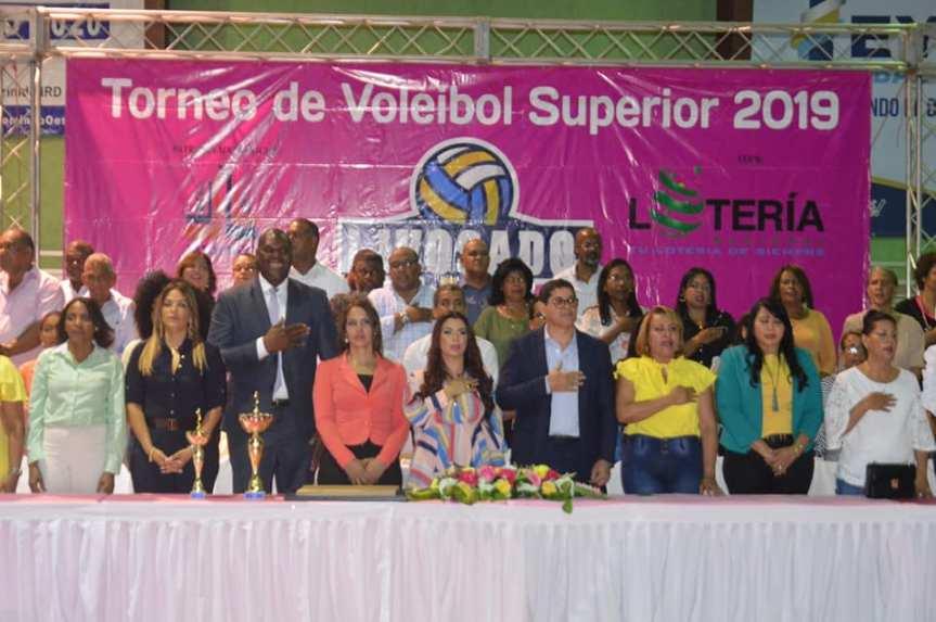 LIVOSADO inaugura Torneo Superior VoleibolFemenino