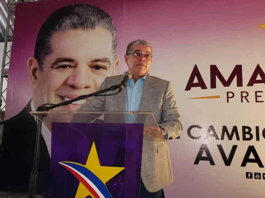 Amarante propone retiro de Leonel para que la unidad del PLDcontinue