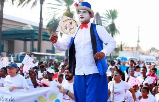 Fundación La Merced realizó caminata contra el trabajoinfantil