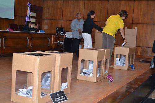 JCE admite a más encuestadoras y aprueba reglamento para voto en elexterior