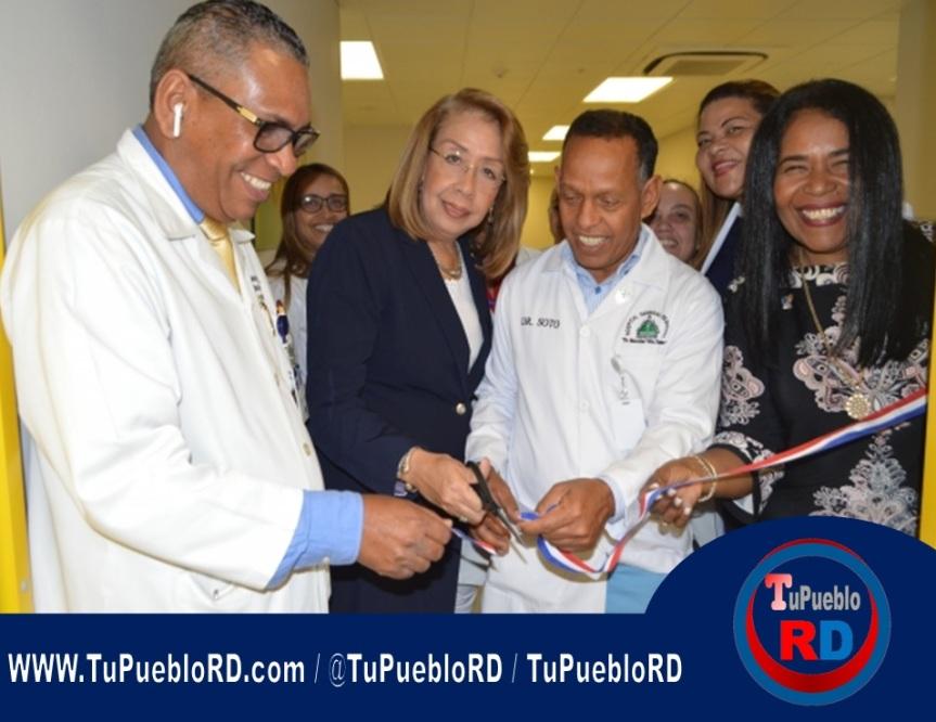 Inauguran Sala de Lactancia Materna en el Hospital Marcelino VélezSantana