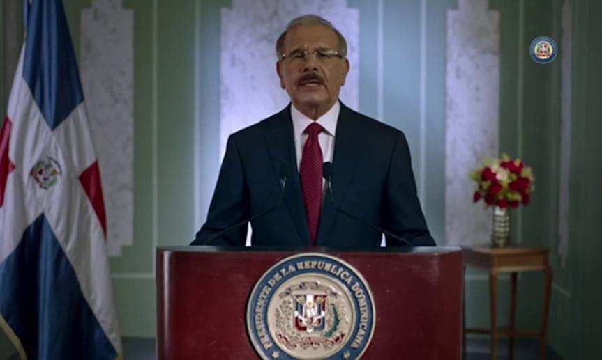 Danilo Medina despeja el panoramapolítico