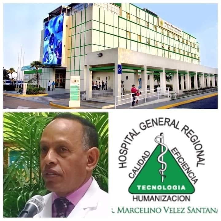 hospital Regional Marcelino Vélez Santana en la dirección del Dr. FrankSoto