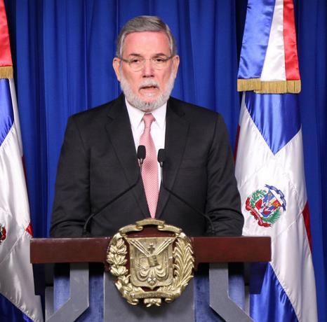 Portavoz de Gobierno habla sobre crisis delPLD
