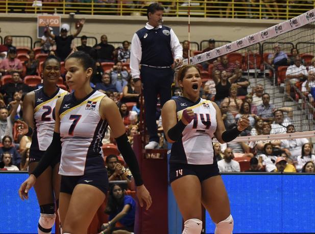 Las Reinas del caribe derrotan a USA y se coronan campeonas del TorneoNORCECA