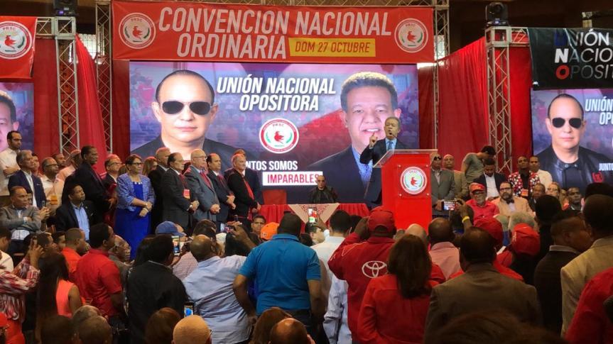 Leonel es proclamado candidato presidencial delPRSC