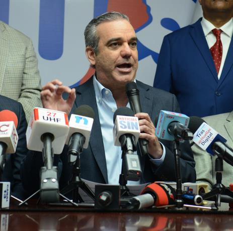 PRSD proclama a Luis Abinader presidente este domingo20