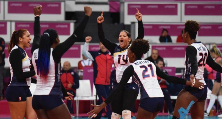 La Reinas del caribe siguen invictas; derrotaron 3-0 a Trinidad y Tobago en elNORCECA