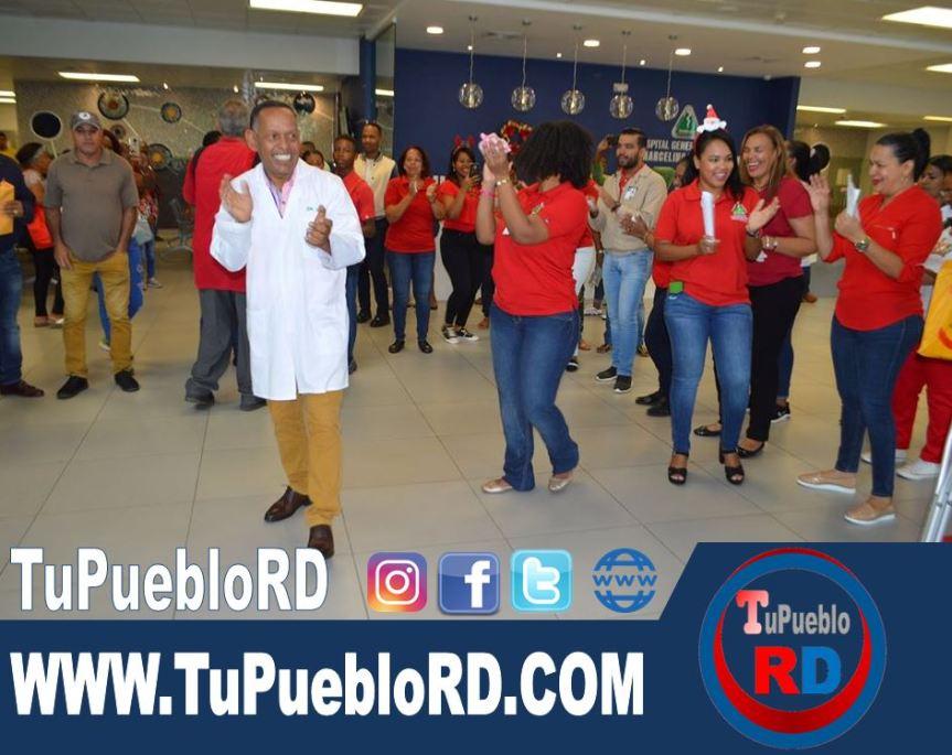 Hospital Marcelino Vélez Santana realiza aguinaldonavideño