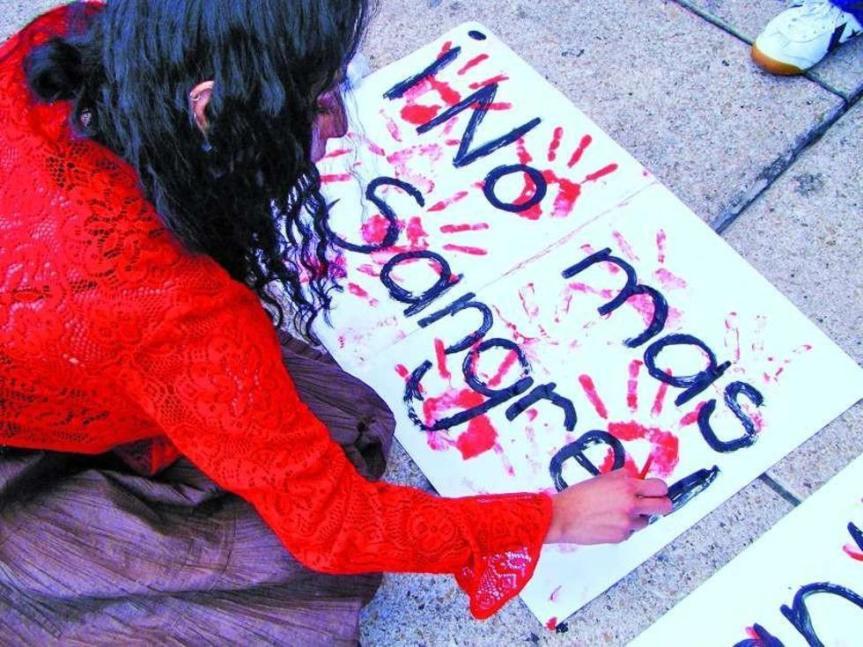 Los feminicidios no han disminuido en RD; la PGR y sus estadísticas sonfalsas