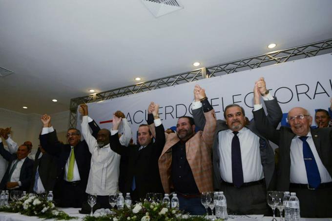 Provincias en las que el PRM y Fuerza del Pueblo encabezarán alianza opositoria a nivelsenatorial