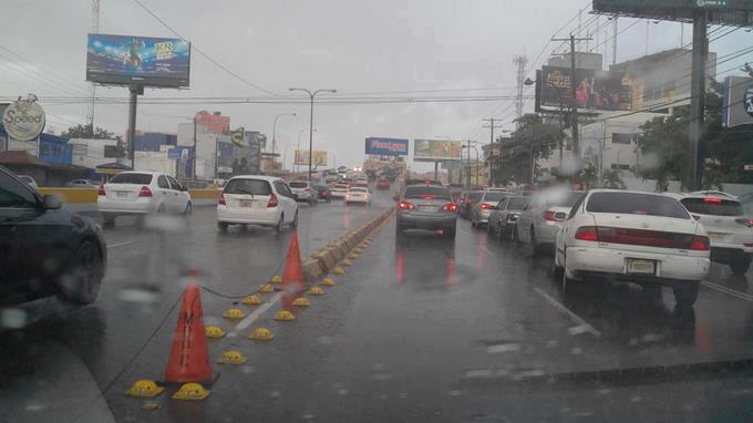 Vaguada seguirá provocando aguaceros las próximas 48horas