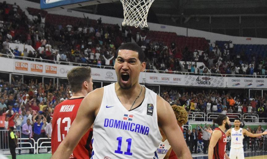 Dominicana supera a Canadá en partido FIBAAmeriCup