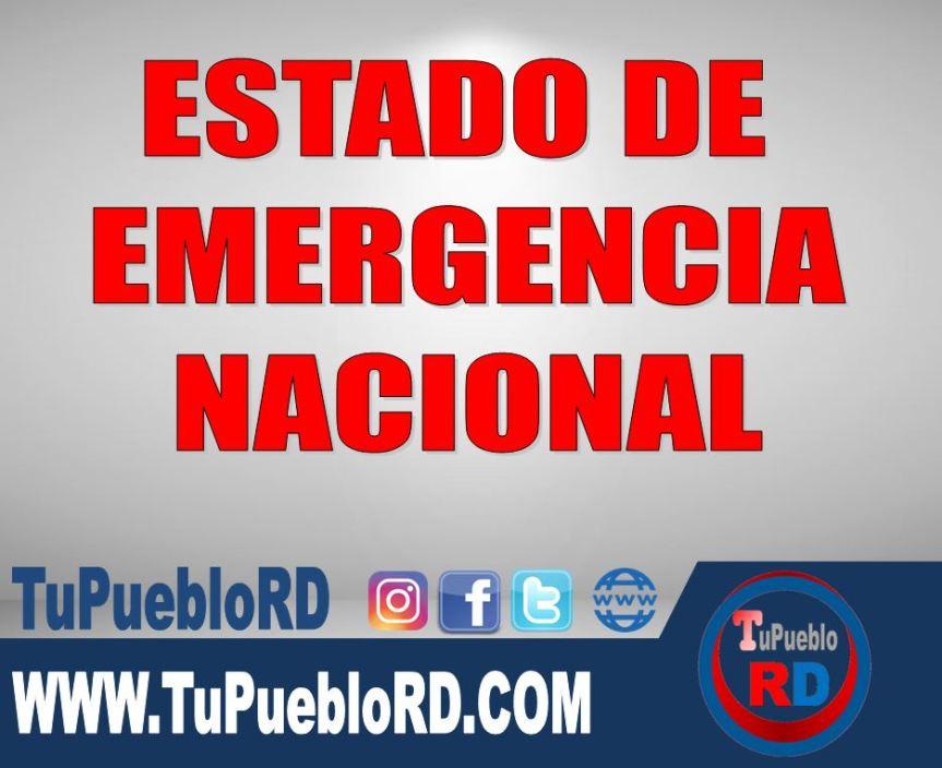 ¿Qué es una declaratoria de emergencia nacional y en cuáles circunstancias seemite?