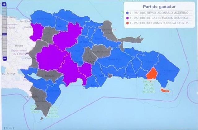 Cambia mapa político; oposición gana casi toda RD, tras resultados deelecciones