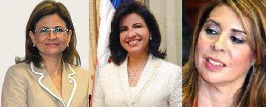 Principales partidos dominicanos escogieron mujeres para laVicepresidencia