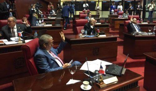 El Senado aprueba declaración de emergencia nacional por 25días