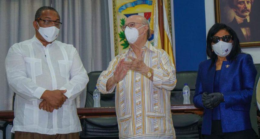 HM visita al alcalde municipio Santo Domingo Oeste, JoséAndújar