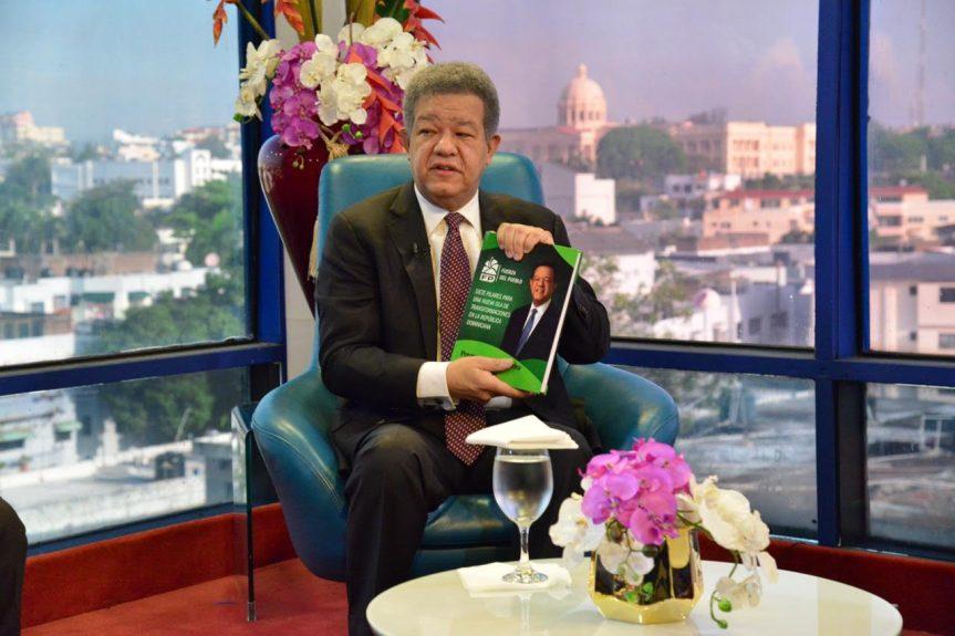 Leonel Fernández ve en RD ha habido retroceso durante gobiernos de DaniloMedina