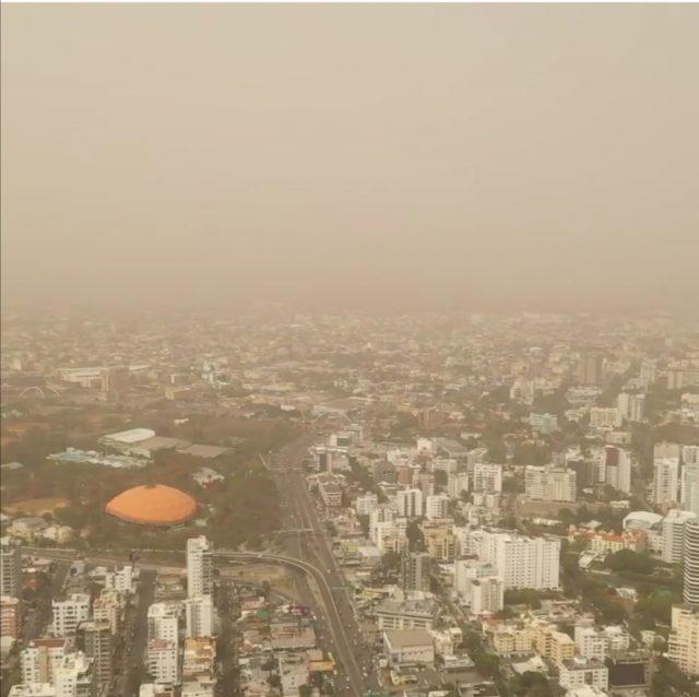 El cielo continuará opaco por las partículas del polvo deSahara