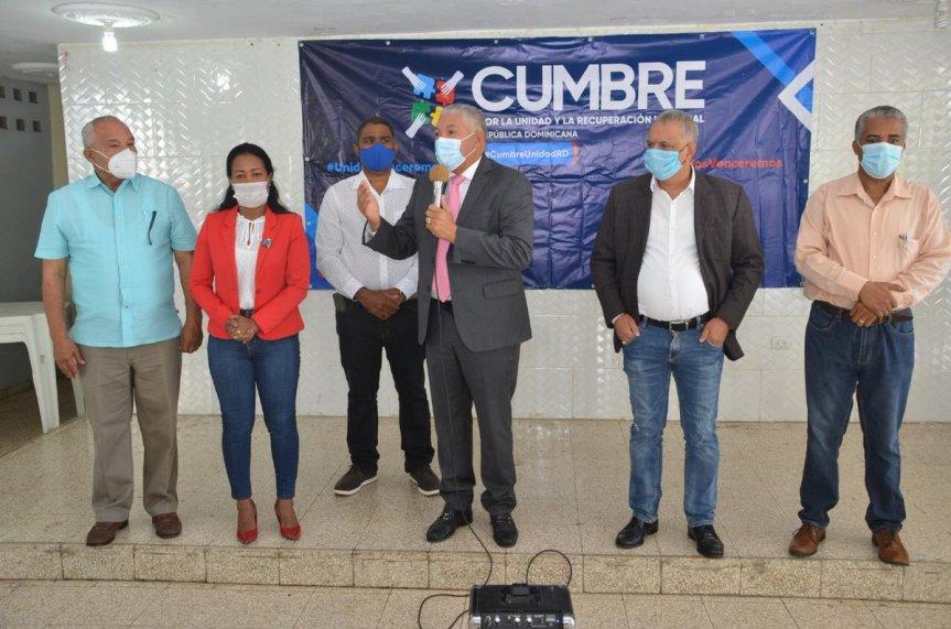 PRM celebra cumbre por la unidad y recuperaciónnacional