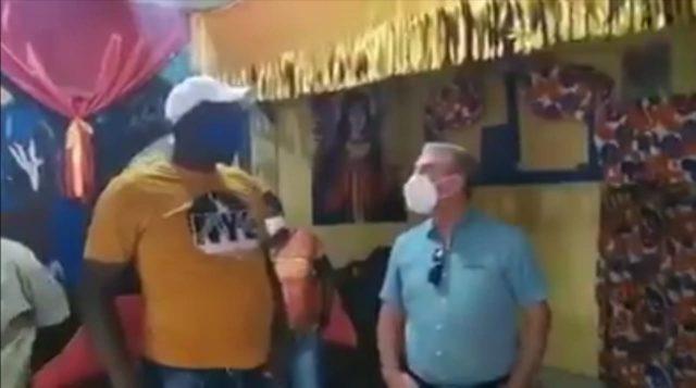 Gonzalo Castillo visita brujo de San Luis, quien le manifestó apoyo a sucandidatura