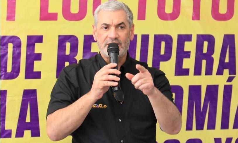 Gonzalo dice el pueblo ya lo eligió a él como próximoPresidente