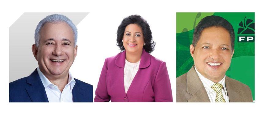 Antonio Taveras y Perfecto Acosta aspiran a quitar el invicto a la senadora CristinaLizardo