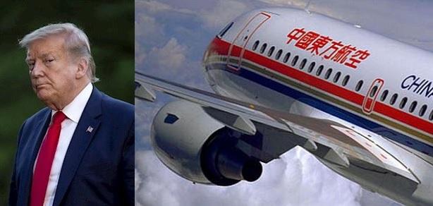 Donald Trump prohibirá a aerolíneas chinas volar a los EstadosUnidos