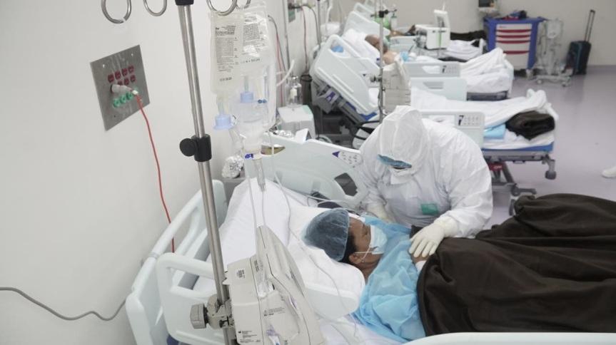 El Gran Santo Domingo se queda sin camas para pacientes decoronavirus