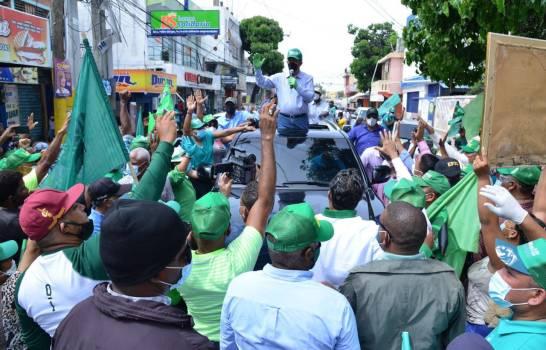La FP cierra campaña este jueves con marcha caravana en SantoDomingo