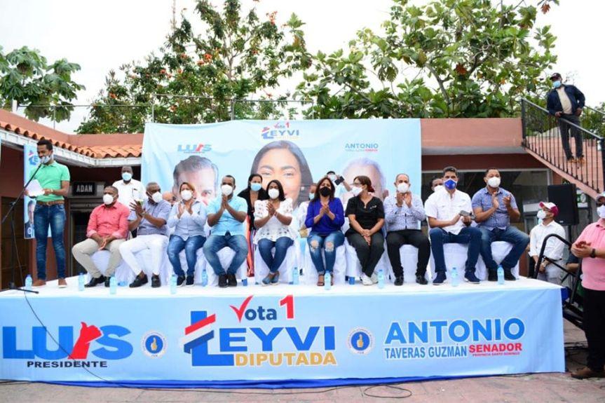 Cierre de campaña de la candidata a Diputada por el PRM LeyviBautista
