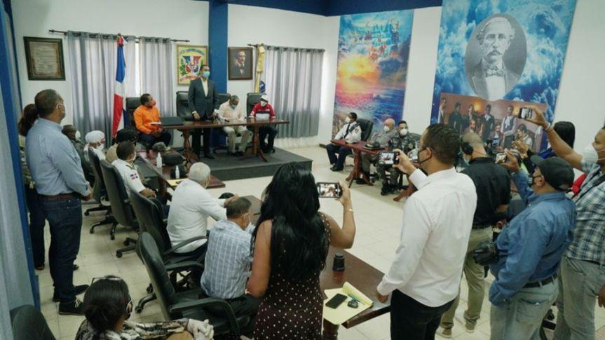 Reunion del Comité Municipal de Prevención, Mitigación y RespuestaSDO