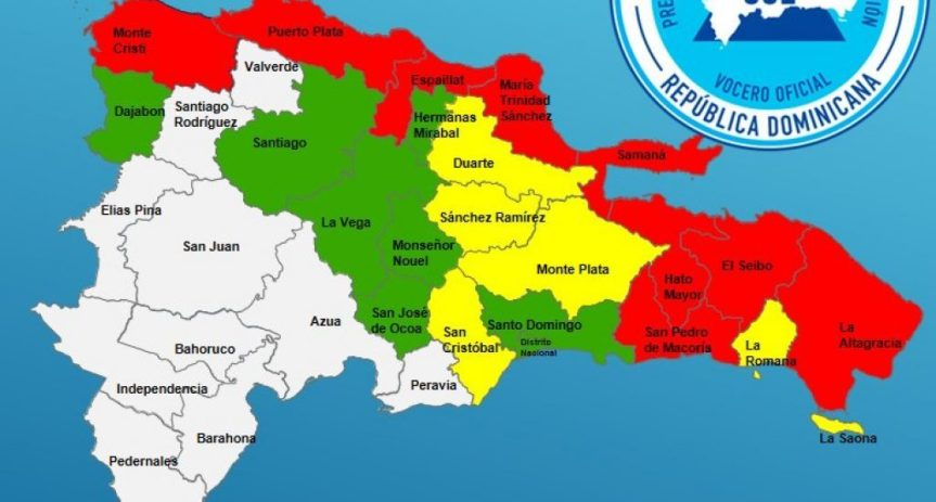 Declaran 9 provincias en alerta roja por el paso de la tormentaLaura