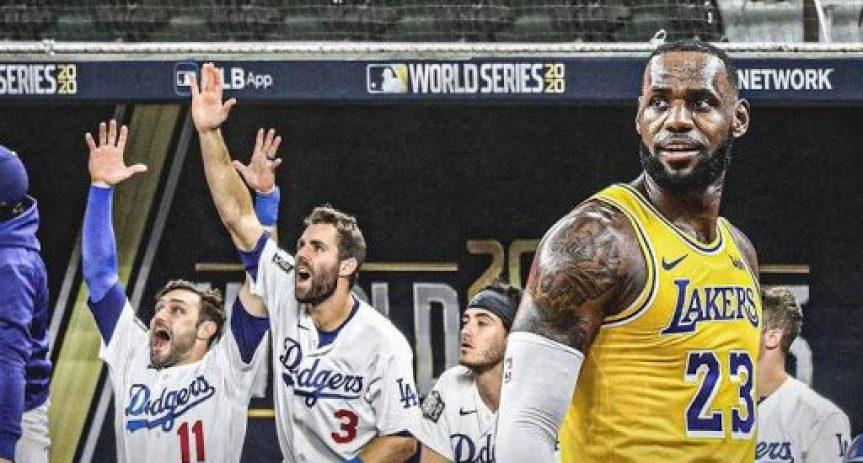 Dodgers y Lakers convierten a Los Ángeles en la capital de loscampeones