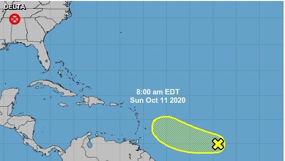 Se forma una onda tropical que se mueve hacia elCaribe