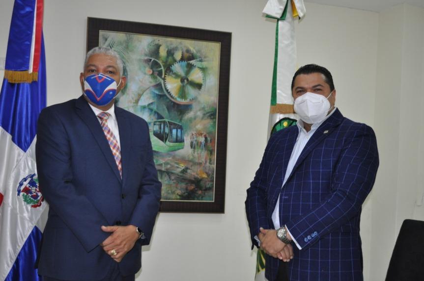 Radhamés González  se compromete cumplir con Ley 63-17;  recibe en OMSA al diputado TobíasCrespo
