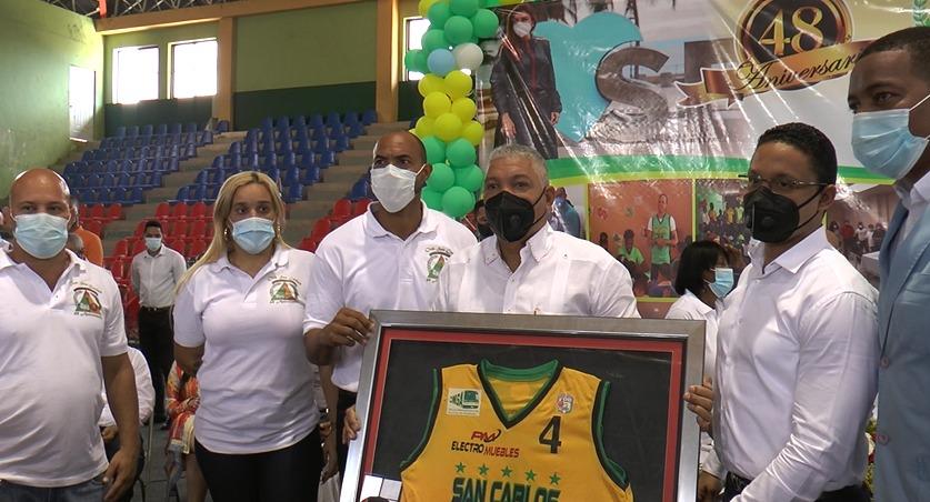 Club San Carlos reconoce a la OMSA por su respaldo a las distintas disciplinasdeportivas