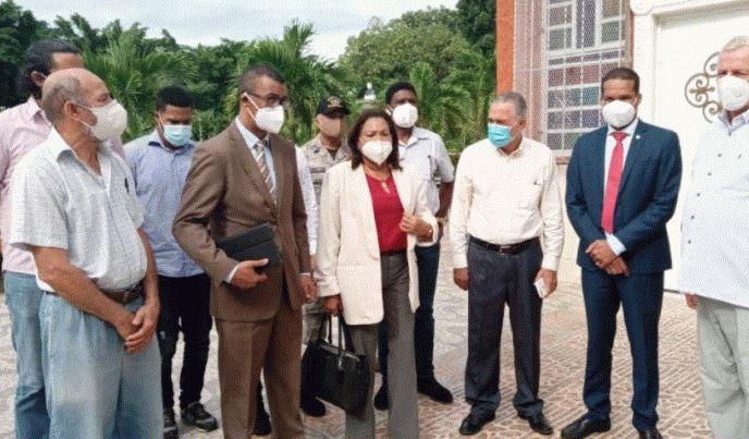 Gobernadora evalúa instalaciones para nueva extensión de la UASD en LosAlcarrizos
